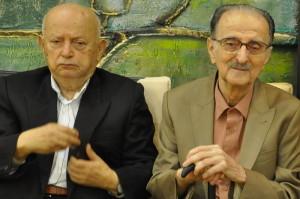 دکتر یزدانی و دکتر فرزد در مجمع عمومی انجمن، پاییز 1390